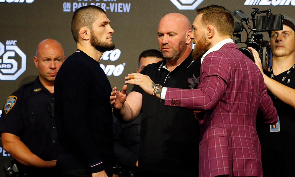 MMA: UFC 229 – Press Conference
