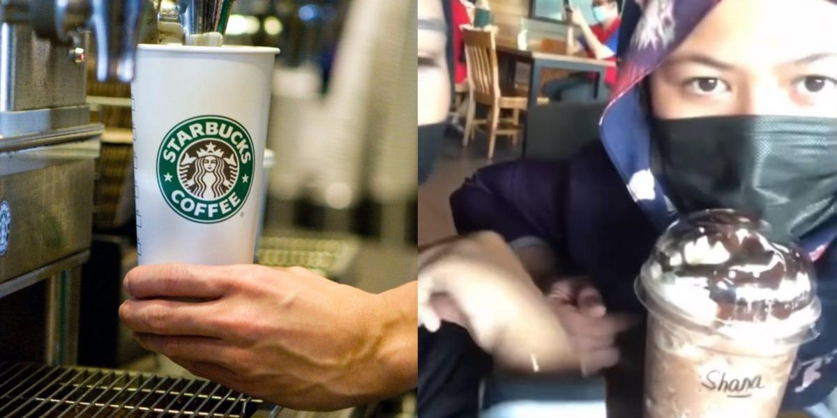 Netizen Simpati Gadis Ini Bayar RM34 Untuk Air Starbucks Pertama Beliau Kerana 'Add On'