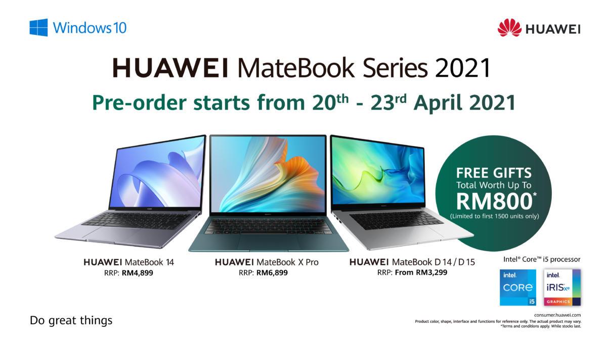 HUAWEI MateBook 2021 Series Price Announcement