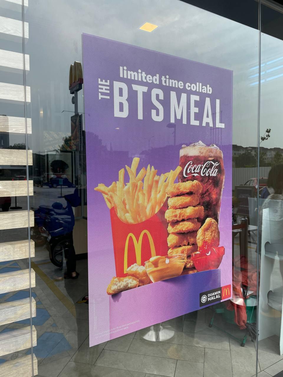 bts meal poster
