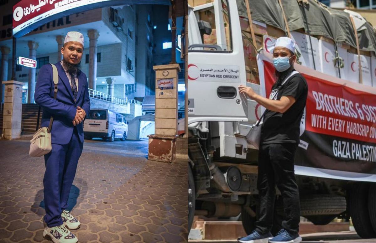 Ebit Lew Umum Berjaya Jejak Kaki Ke Gaza Diiringi Kereta Berperisai Tentera Mesir