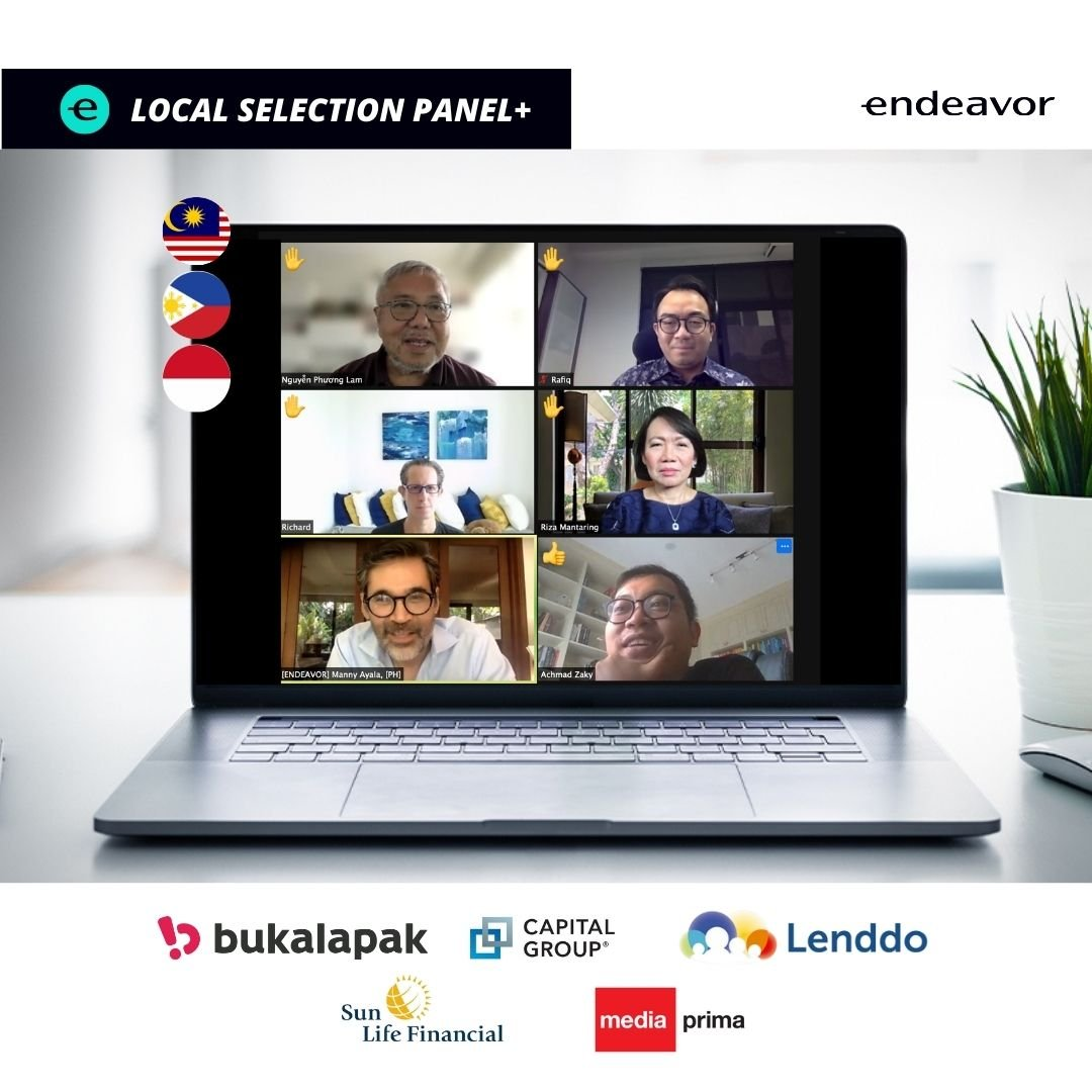 ENDEAVOR'S LOCAL SELECTION PANEL