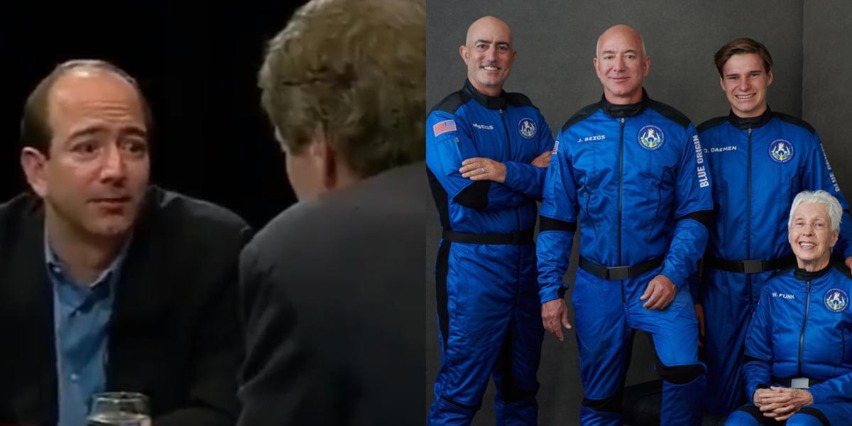 Pernah Menjadi Bahan Tawa, Jeff Bezos Buktikan Pelan Ke Angkasa Bukan Sekadar Sembang Kosong
