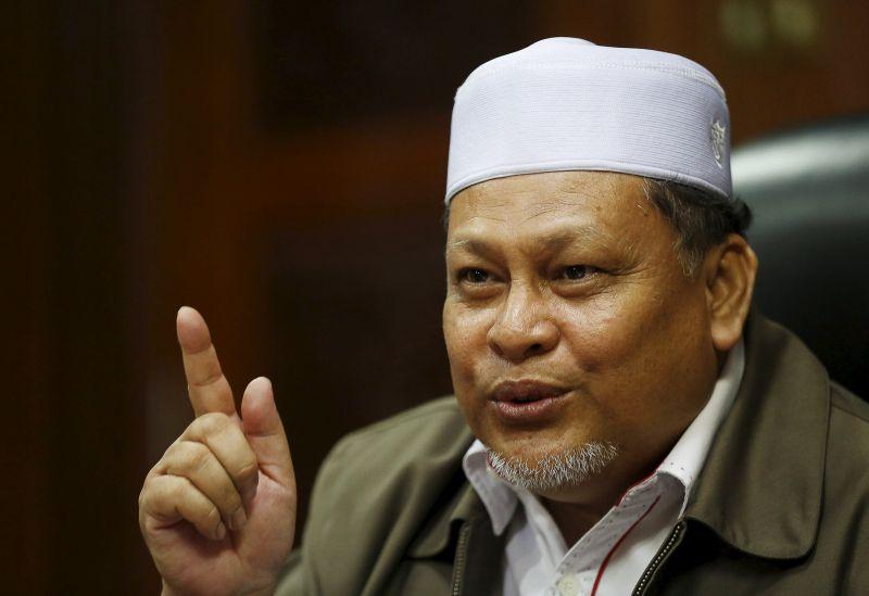 Kelantan Deputy Chief Minister Nik Amar Abdullah speaks during an interview with Reuters in Kota Bharu