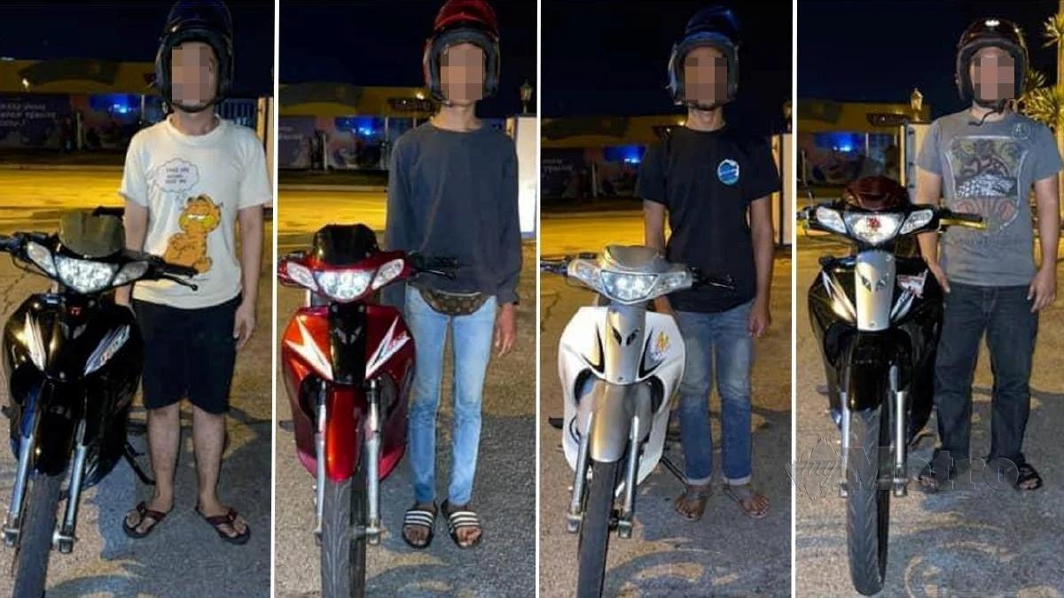 vocket-empat-remaja-ditahan-lumba-motosikal-3