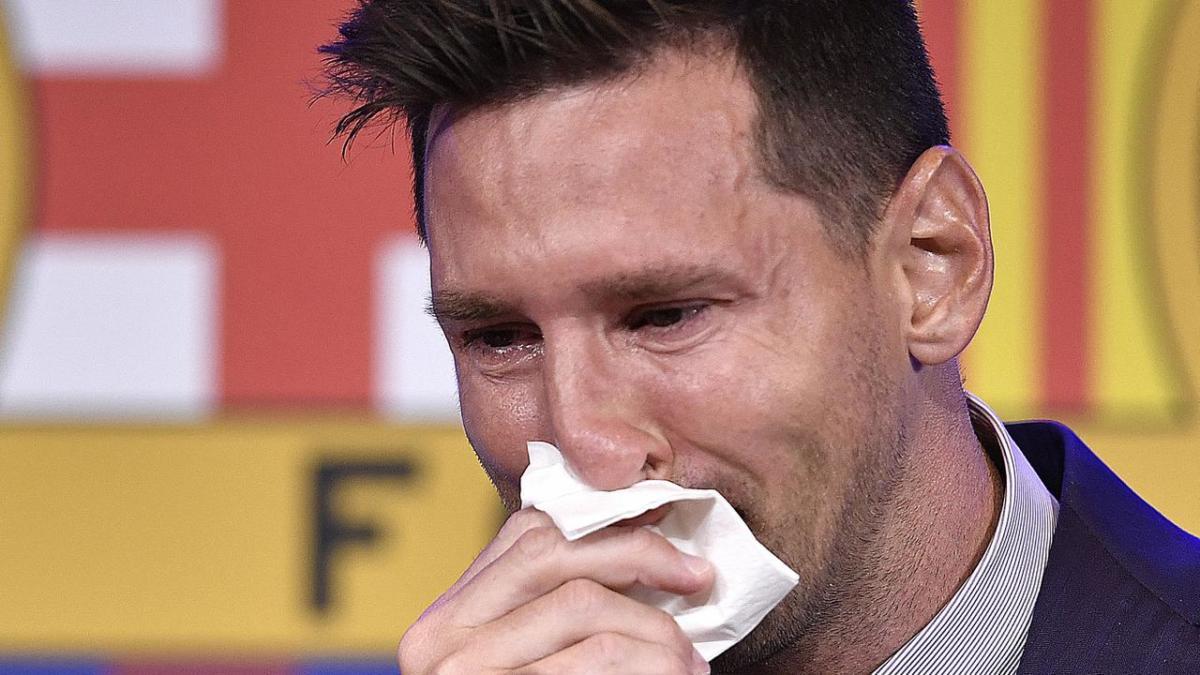 Tisu Yang Digunakan Messi Untuk Lap Hingus Dan Air Mata Dijual Pada Harga RM4.2 Juta