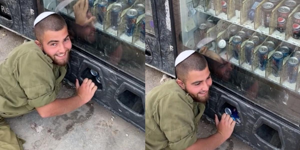 Sudah Terbiasa 'Merampas', Tindakan Tentera Zionis Ini Curi Air Di Mesin Dikritik Netizen