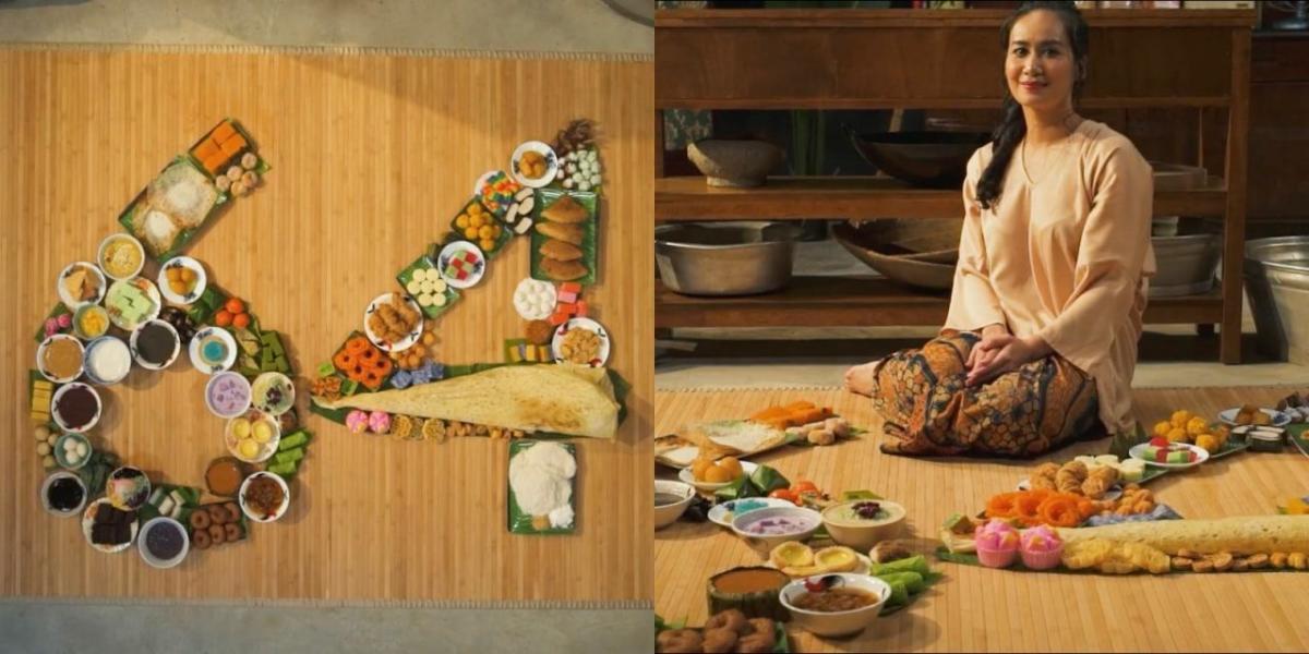 Sempena Hari Kebangsaan Ke-64, Selebriti Ini Hasilkan Dan Hidang Makanan Dengan Gaya Kreatif