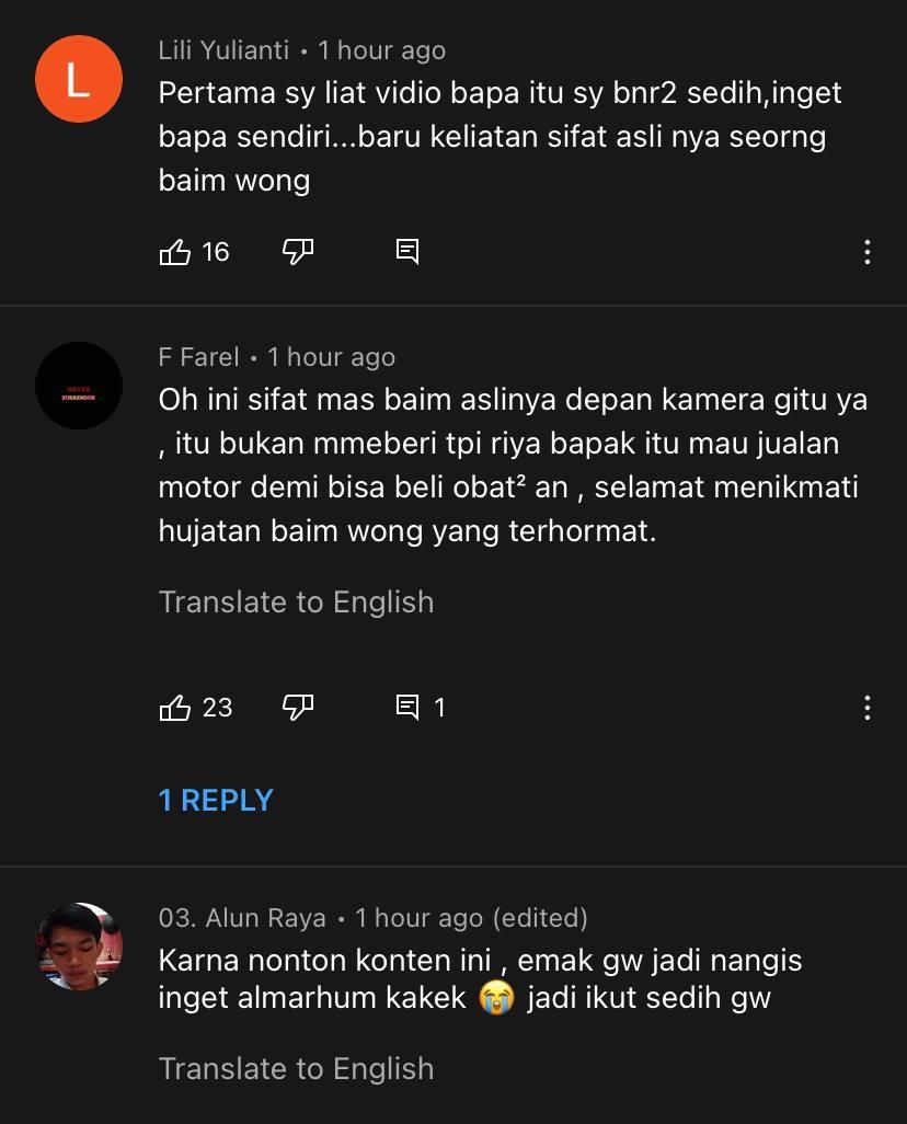 'Berniaga Bukannya Mengemis'- Tindakan Baim Wong Marah Pak Cik Tua Raih Pelbagai Reaksi Netizen 6