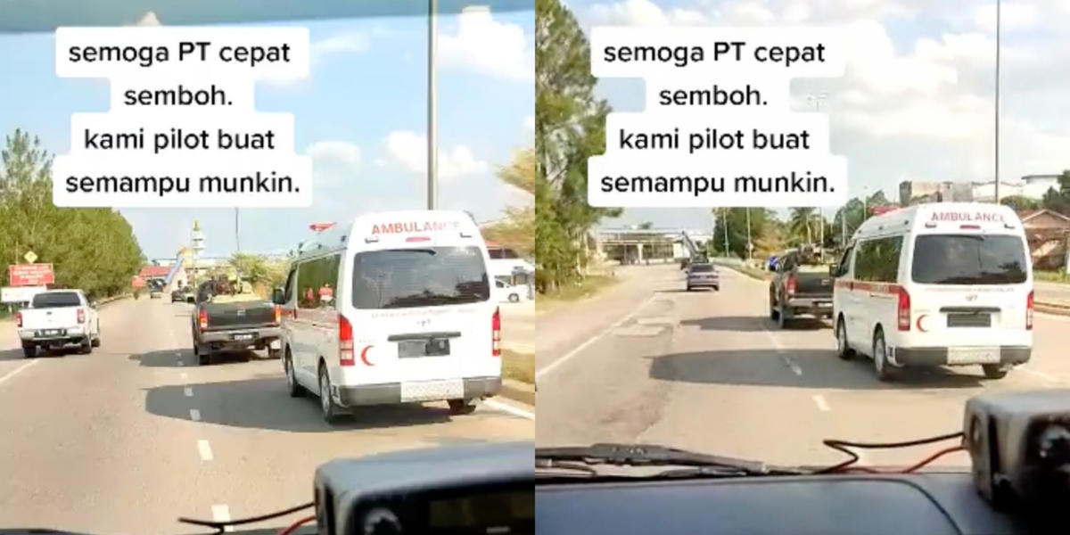 Pemandu Hilux Didakwa Enggan Beri Laluan Kepada Dua Ambulans Dalam Kecemasan