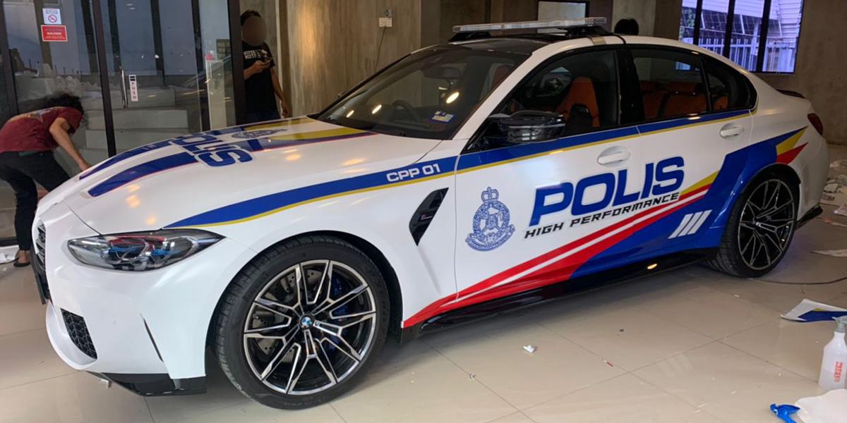 PDRM Bakal Uji BMW M3 Sebagai Kenderaan Rasmi?
