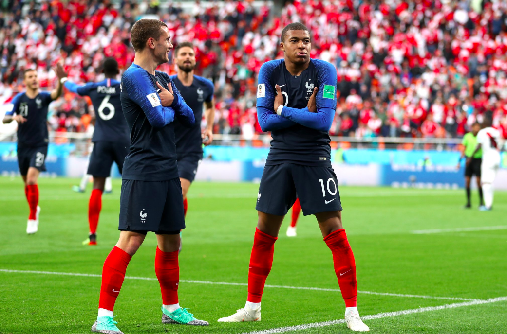 Kylian Mbappe World Cup 2018
