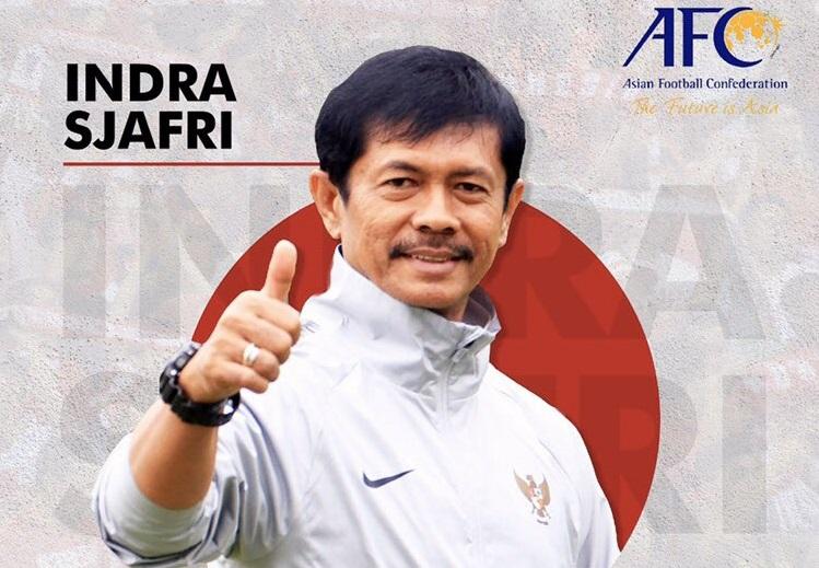 Indra Sjafri terpilih sebagai anggota Komite Teknik AFC. (Foto: Twitter/@indra_sjafri).
