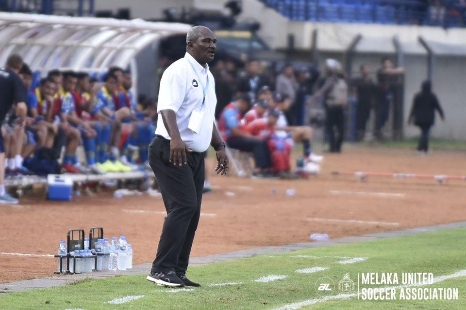 Pelatih Melaka United, Zainal Abidin.
