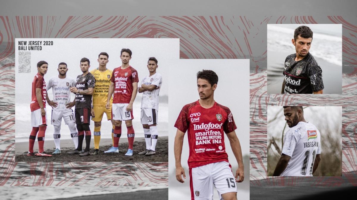 Jersey Bali United musim 2020. (Foto: Bali United).