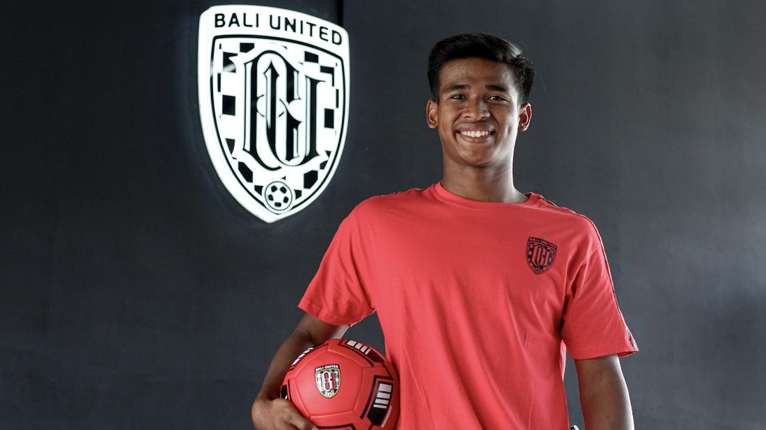 Irfan Jauhari. Foto: Bali United.